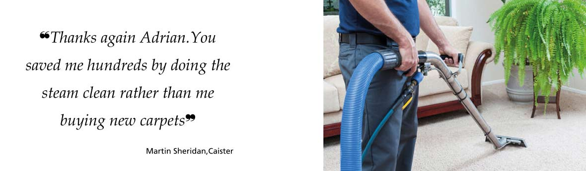 Adrian Kear Carpet Cleaning - header image